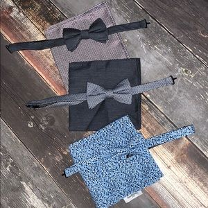 Goodfellow & co bowtie and pocket square bundle